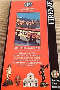 Vecchia-cartina-di-Firenze-Touring-Club-Italiano-Guida-oro-classiche-Vintage