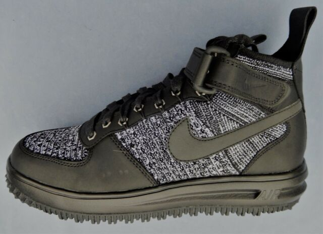 check out dc44f f13cb NIKE WOMENS W LF1 FLYKNIT WORKBOOT SIZE 7 LUNAR FORCE 1 BLACK OREO 860558  001