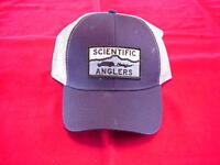 Scientific Anglers Hat Blue Logo Caps Great