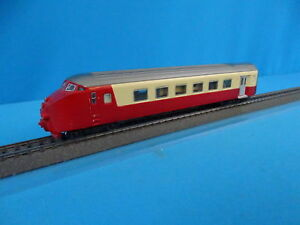 Marklin-8370-NS-SBB-TEE-END-STEARING-COACH-RED-Ivory-HAMO