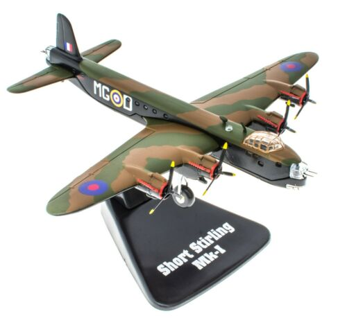 Short Stirling Mk-1-1//144 Atlas Avion Militaire Diecast Aircraft MG11