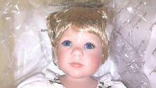"Danbury Mint Porcelain Collectable Doll ""Patience"" by Jeanne Singer"