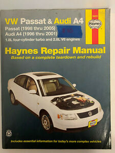 Haynes-Repair-Manual-VW-Passat-amp-Audi-A4