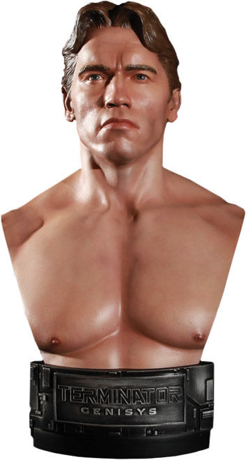 TERMINATOR GENISYS  1984 T-800 1 2 Scale Bust (Chronicle Collectibles)  NEW