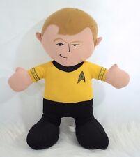 "Star Trek Captain James Tiberius Kirk Plush William Shatner Stuffed Toy Doll 15"""