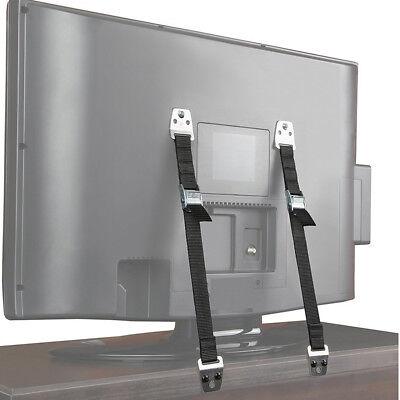 1pc Anti Tip Flat Screen Tv Saver Straps Safety Wall