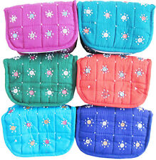Cotton Hand Work Jewellery Storage Box / Set of 2 pcs / Travelling Kit VIP1XMZ2