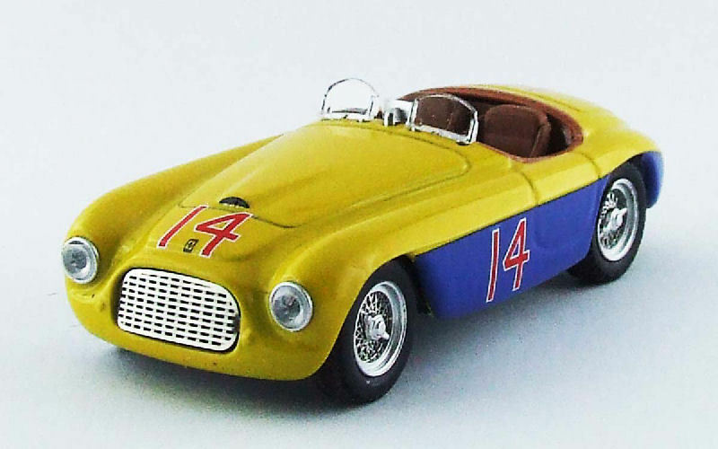Ferrari 166 MM Spyder  14 Winner Mar Del argent 1950 C. Menditeguiy 1 43 Model