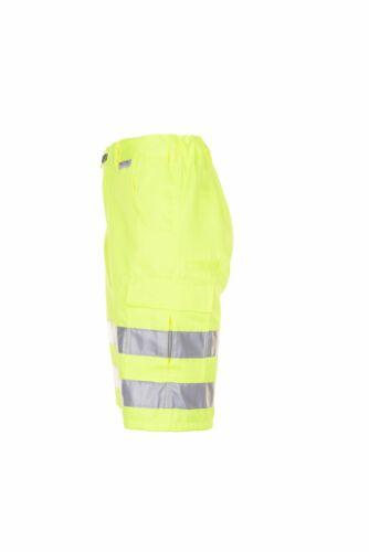 Planam Warnschutz Herren Shorts Uni uni-gelb Modell 2014