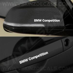 4x-BMW-Competition-Premium-Quality-Door-Handle-Mirror-Decals-Stickers-Alpina