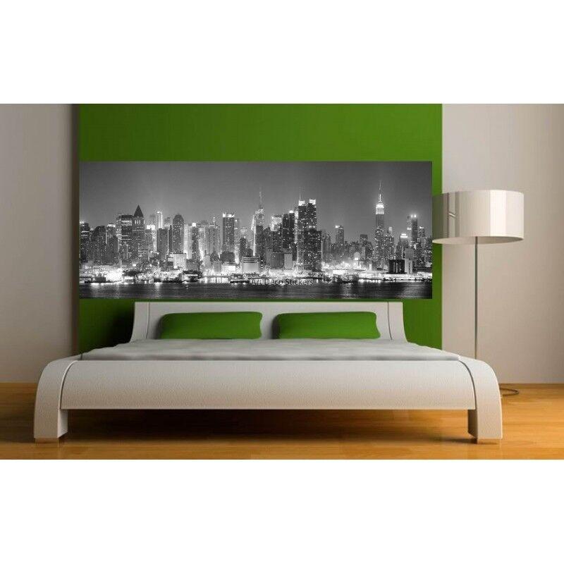 Aufkleber -kopf Bett Deko New York City 9129