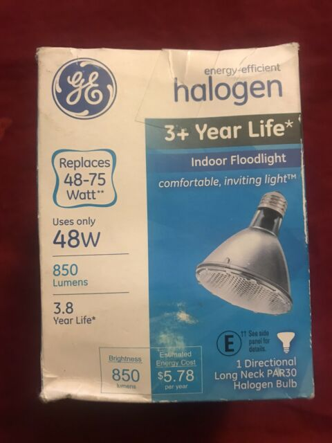 PAR30 Green Halogen Flood Light Bulbs