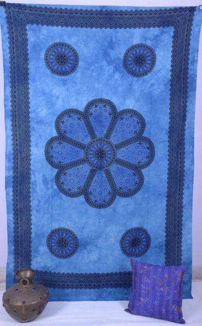 Indian Cotton Wall Hanging Dorm Wall Decor Mandala Tapestry Beach Throw Blanket
