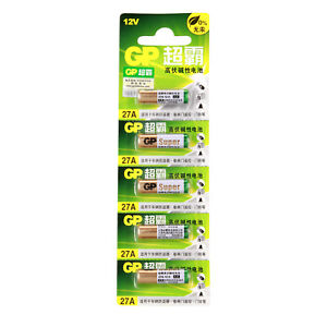 5pcs-27A-Alkaline-Battery12V-MN27-A27-GP27A-E27A-EL812-L828-For-Remote-Control
