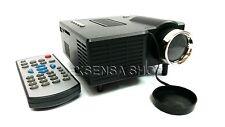Proiettore Portatile LED Videoproiettore Mini Home Cinema PC VGA/USB/SD/AV/HDMI