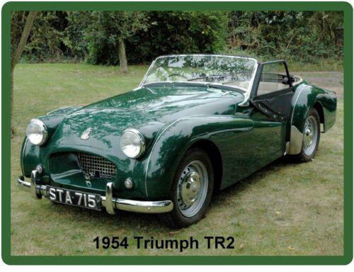 Tool Box  Magnet Gift Item 1954 Triumph TR2 Green  Refrigerator