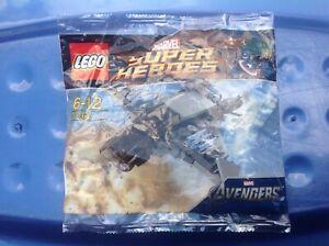 LEGO-MARVEL-AVENGERS-SUPER-HEROES-30162-QUINJET-POLYBAG-NEW-amp-SEALED-POST-FREE