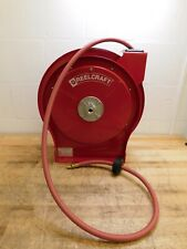 Reelcraft 50 Spring Retractable Hose Reel 300 Psi Hose Included 5650 Olp