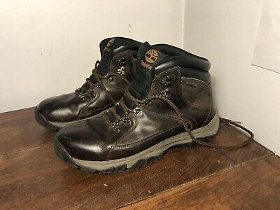 Timberland Men/'s 43 North Mid Leather OrthoLite Hiking Trail Boots