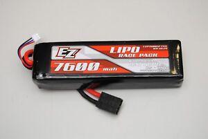 Ezp7600 / 2s 7.4v 40c Batterie Li-po 7600mah 2s Ez Power