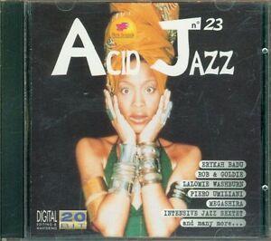 Acid-Jazz-Vol-23-Erykah-Badu-Piero-Umiliani-Goldie-Cd-Perfetto-Spedito-in-48H