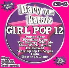 Party Tyme Karaoke - Girl Pop 12 (8+8-song CD+G) by