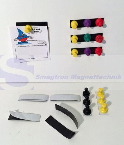 50 Magnetstreifen Ferrostreifen Kühlschrank Magnet Regale  Schilder Magnetfolie