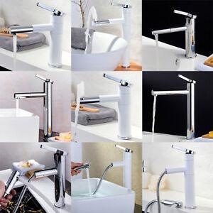 design badarmatur waschtisch armatur wasserhahn einhand bad ausziehbar chrom neu ebay. Black Bedroom Furniture Sets. Home Design Ideas