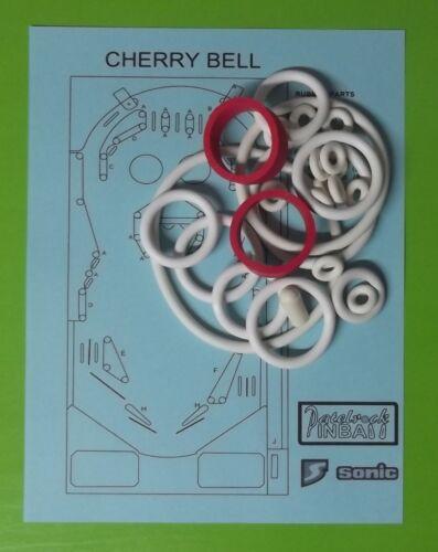 1977 Sonic Cherry Bell pinball super kit