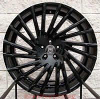 24 Lexani Wraith Wheels Chevy Tahoe Suburban Cadillac Escalade Tahoe Black Rims