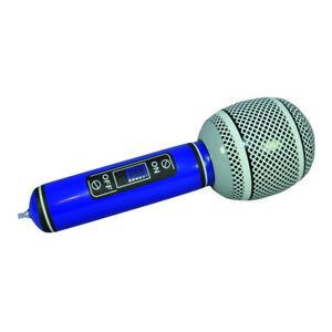 Mikrofon aufblasbar Superstar Sänger Mikro Aufblasmikro