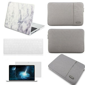 Details about Marble Paint Laptop Hard Case +KB Cover Sleeve bag for  Macbook Pro Air Retina