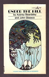 Under-the-Hill-Aubrey-Beardsley-vintage-1968-Zebra-Books-erotica-sleaze-EX