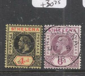 St Helena SG 85-6 VFU (3dmc)