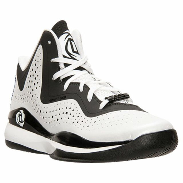 a0c764ab268501 Adidas D Rose 773 III mens basketball trainers shoes white black C75720