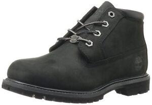 Women-039-s-shoe-Timberland-Nellie-Impermeabile-Con-Lacci-Chukka-23398-Nero-NUOVO
