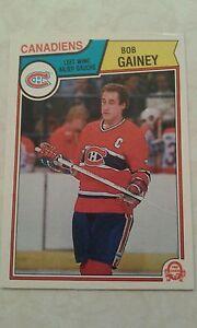 1983-84-OPC-O-Pee-Chee-Bob-Gainey-Montreal-Canadiens-Card-187