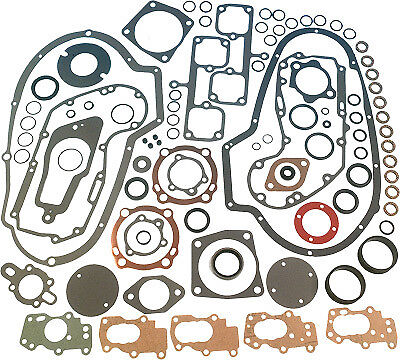 James Gaskets Complete Gasket Kit with Copper Head Gaskets for Harley Davidson