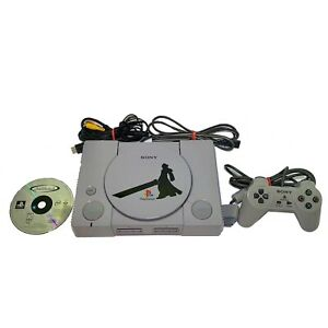 Sony PlayStation 1 PS1 Console Custom Final Fantasy VII System OEM Controller