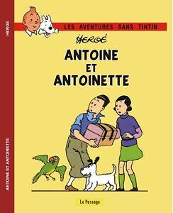 TINTIN-Antoine-et-Antoinette-Histoire-publicitaire-annees-30-Cartonne-Inedit