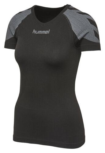 Hummel First Comfort Jersey Kurzarm 03742 2001 Funktionsshirt Damen schwarz