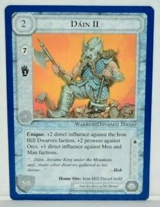 MECCG CCG Middle-earth Dain II The Wizrds Unlimited TWUL MINT
