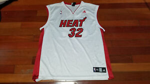 6a52b231786 Vtg mens Reebok Miami heat Shaquille O'neal SHAQ basketball jersey ...