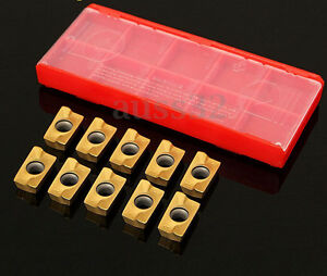 10pcs APKT1604PDER DP Carbure Milling Inserts Milling Cutter Blade Hard Alloy BE