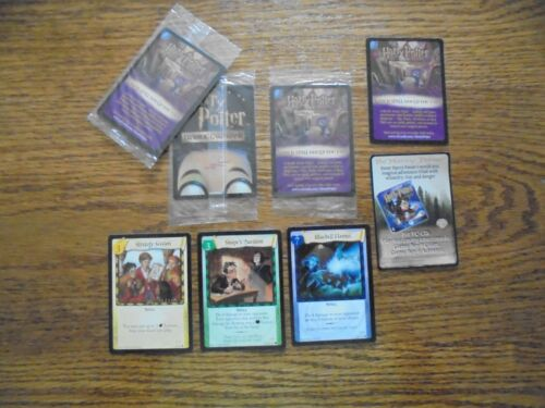 One Sealed Pack Promo Card plus Ad card from Harry Potter TCG set,Super Cool!