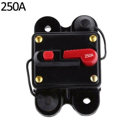 EG/_ 100-300A AMP Circuit Breaker Car Marine Stereo Audio Inline Replace Fuse 12V