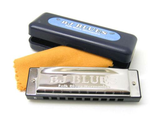 BJ Blues Harmonica Major Diatonic In C