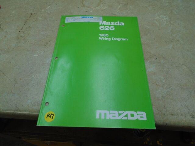 Mazda 626 Used Wiring Diagram Manual Vp 1980 Vp