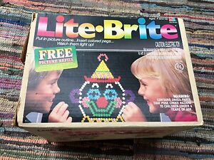 Lite Brite Vintage Kids Classic You