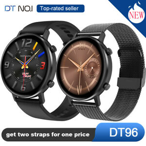 DTNO-1-DT96-Smart-Watch-With-Two-Straps-Heart-Rate-Monitor-Bracelet-Sport